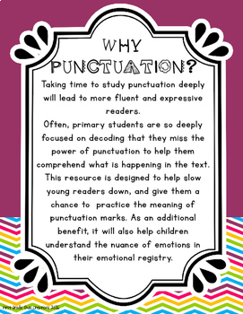 Powerful Punctuation for 1st-3rd Grade