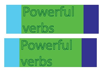 Powerful Verbs