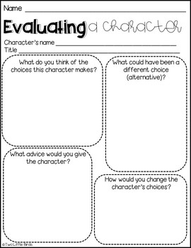 Responding to Reading: Graphic Organizers and Posters