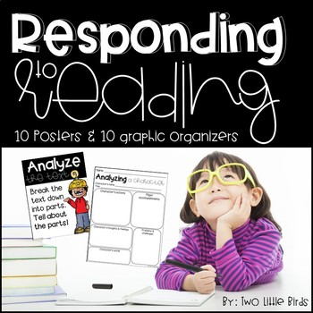 Reading Strategies: Reading Strategy Posters and Graphic Organizers