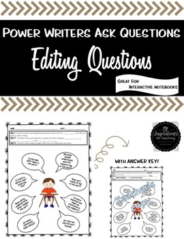 Powerful Writers Ask Questions
