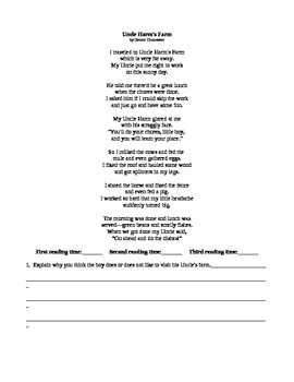 Powerfully Perfect Poetry Packet 1