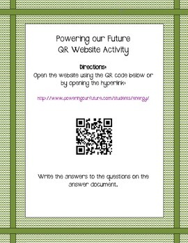 Powering our Future QR Website WS