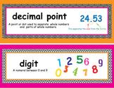 Powerpoint: 5th Grade Math Module 1 Vocabulary
