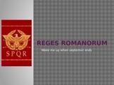 Powerpoint: 7 Kings of Rome