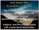 African Countries : PowerPoint using Montessori principles