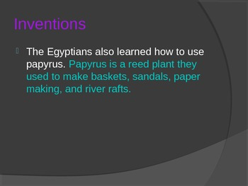 Powerpoint Ancient Egypt