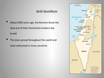 Powerpoint: Anti-Semitism and the Holocaust