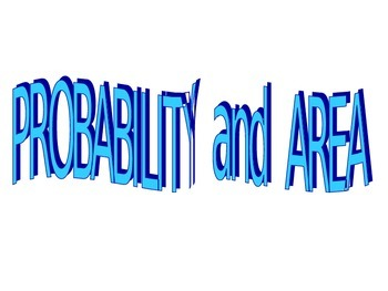 Powerpoint Area and probability.