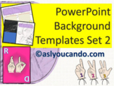 ASL Powerpoint Backgrounds Set 2