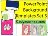 ASL Powerpoint Backgrounds Set 5