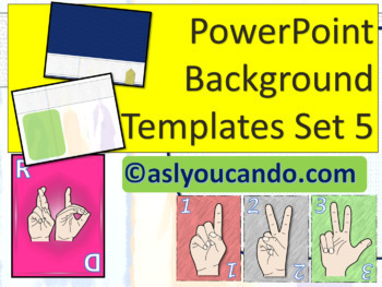 ASL Powerpoint Backgrounds Set 5
