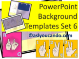ASL Powerpoint Backgrounds Set 6