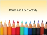 Powerpoint Cause and Effect Activity