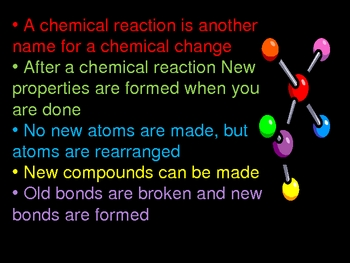 Powerpoint Chemical Reactions