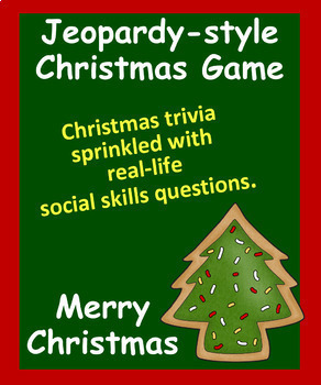 Powerpoint Christmas Game - A Mix of Social Skills and Trivia