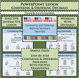 Powerpoint Comparing & Ordering Decimals Interactive Lesso