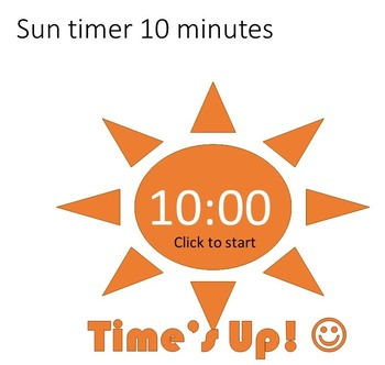 Powerpoint Countdown Sun Timers