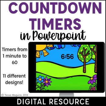 Digital Powerpoint Countdown Timers