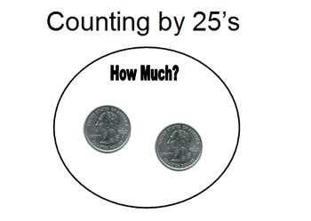 Powerpoint Counting Quarters .25-.75 Discrete trial style