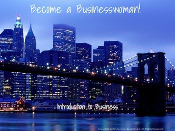 ESL Business English classes for women Preview- Become a B