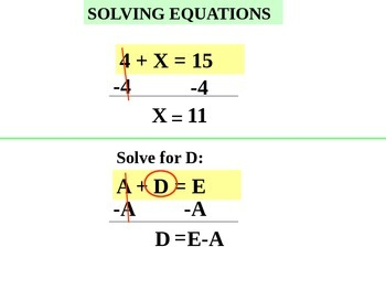 Powerpoint Equations