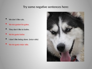 Powerpoint: GUSTAR and verbs that work like GUSTAR