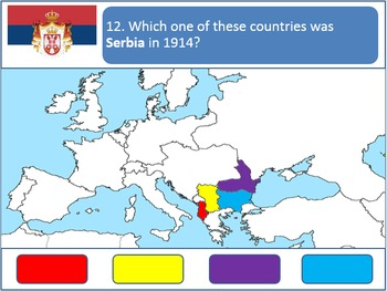 Powerpoint Game: 1914 European Geography (WWI)