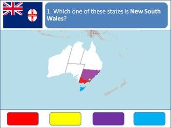 Powerpoint Game: Australian Geography
