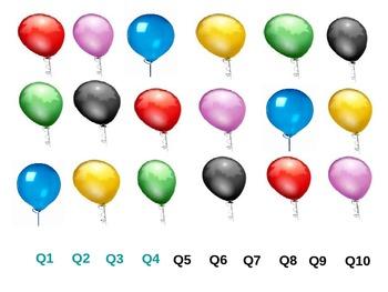 "Powerpoint Game ""Balloon Bust"""