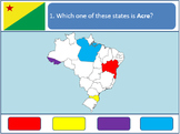 Powerpoint Game: Brazilian Geography