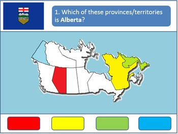 Powerpoint Game: Canadian Geography