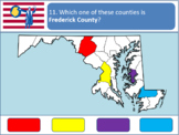 Powerpoint Game: Maryland Geography