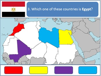 Powerpoint Game: North African Geography