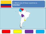 Powerpoint Game: South American Geography