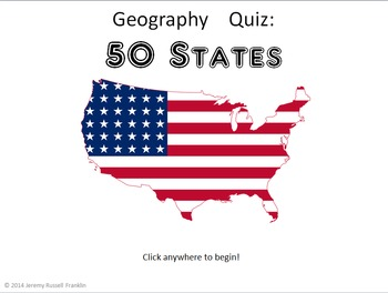 Powerpoint Game: United States Geography