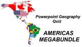 Powerpoint Geography Quiz - AMERICAS MEGABUNDLE