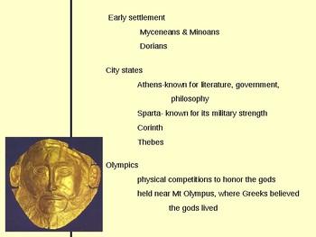 Powerpoint- Greek Civilization notes