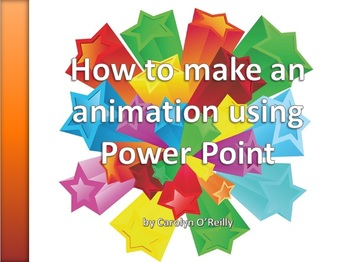 Powerpoint Presentation - How to make an Animation using Powerpoint