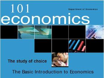Powerpoint - Introduction to Economics: Ten Basic Concepts
