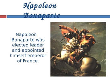 Powerpoint Introduction to the French Revolution