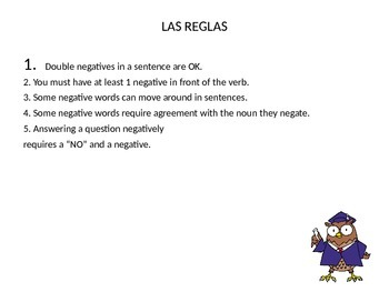 Powerpoint: LOS NEGATIVOS y POSITIVOS Everything you need to know