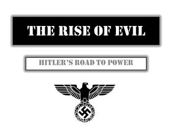"World War 2 - ""Hitler and The Rise of Evil"" -  11 Slide Dynamic Powerpoint!"