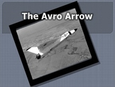 Avro Arrow and Canada - An Engaging Powerpoint Story!