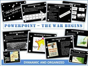 World War 2 Begins Powerpoint: 15 Vivid Slides of the Road to War!