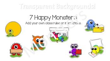 Powerpoint Monster vectors
