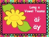 Powerpoint Phonics Drill Long a Vowel Teams (Mixed)