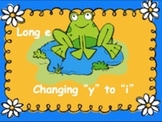Powerpoint Phonics Drill Long e, Change i to y