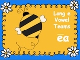 Powerpoint Phonics Drill Long e, vowel team ea