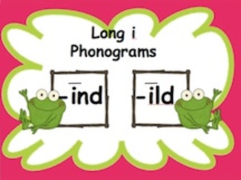 Powerpoint Phonics Drill Long i (ind, ild word families)
